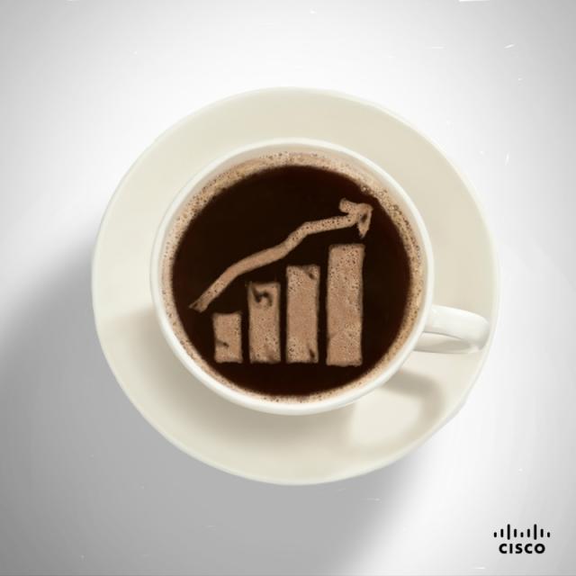 Chaînon manquant entre les données volumineuses et du bon café