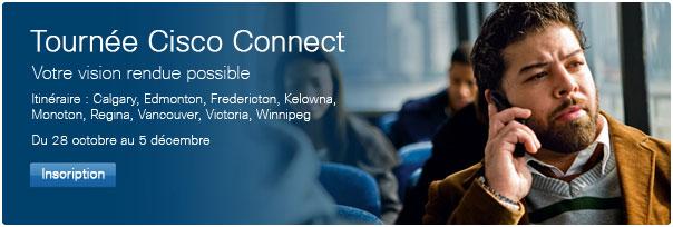 Tournée Cisco Connect Canada