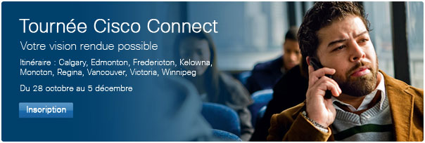Tournée Cisco Connect Canada