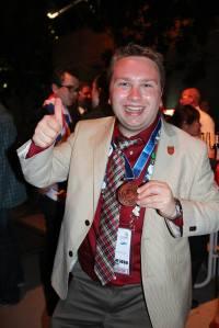 Jean-Philippe Desbiens, de Cisco, a concouru dans la catégorie « Administration des systèmes de réseau » et a obtenu une médaille d'excellence.