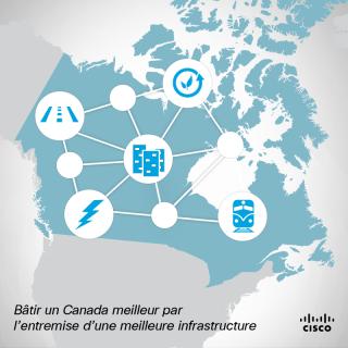 La prochaine génération d'infrastructures canadiennes dépend d'une autoroute faite de bits et d'octets