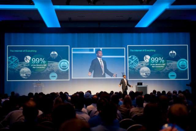 94 % des participants de Cisco Connect qui ont répondu au sondage se sont dits 'très satisfaits ou satisfaits' ».