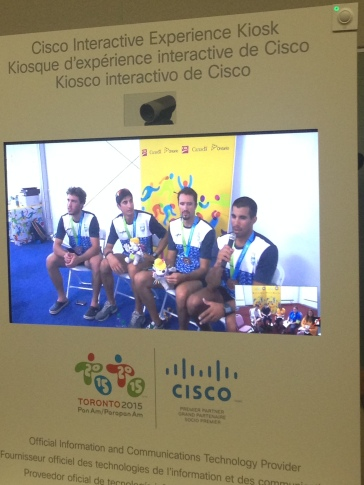 Argentina Men's Coxless Fours - Bronze Medalists