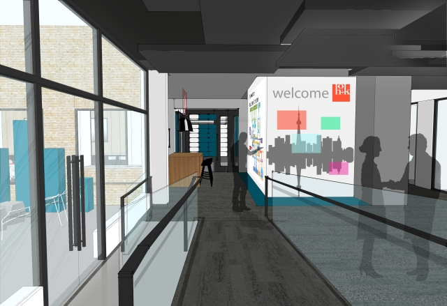 Toronto IoE IC - Greet Area Rendering